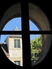 Maison d'Armande Béjart - Français:   Vue de l\'une des deux tours du musée