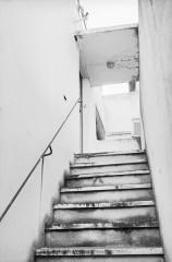 Villa Van Doesburg - Nederlands: Van Doesburghuis: trap naar voordeur