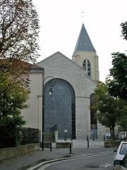 Cathédrale Sainte-Geneviève - Saint-Maurice -  Cathédrale Sainte-Geneviève de Nanterre  Photo JH Mora, octobre 2005
