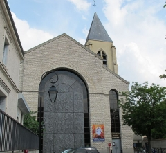 Cathédrale Sainte-Geneviève - Saint-Maurice - English: St.Genevieve and St.Maurice Roman catholic cathedral, in Nanterre, Hauts-de-Seine, France.