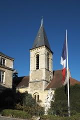 Eglise - Deutsch: Katholische Pfarrkirche Saint-Jean-Baptiste in Le Plessis-Robinson im Département Hauts-de-Seine (Region Île-de-France/Frankreich), Glockenturm
