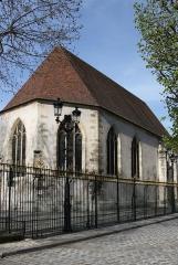 Eglise Notre-Dame-de-la-Pitié - Deutsch: Katholische Kirche Notre-Dame-de-Pitié (Vieille Église) in Puteyáux, einer Gemeinde im Département Hauts-de-Seine (Île-de-France), aus dem 16. Jahrhundert, Blick auf die Apsis