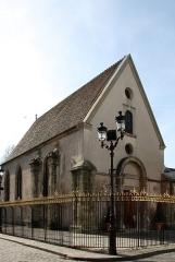Eglise Notre-Dame-de-la-Pitié - Deutsch: Katholische Kirche Notre-Dame-de-Pitié (Vieille Église) in Puteaux, einer Gemeinde im Département Hauts-de-Seine (Île-de-France), aus dem 16. Jahrhundert, Eingangsfassade