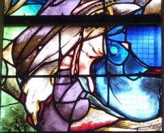 Eglise Notre-Dame-de-la-Pitié - Deutsch: Bleiglasfenster (Ausschnitt) in der katholischen Kirche Notre-Dame-de-Pitié in Puteaux
