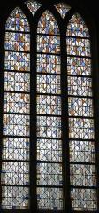 Eglise Notre-Dame-de-la-Pitié - Deutsch: Bleiglasfenster in der katholischen Kirche Notre-Dame-de-Pitié in Puteaux