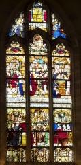 Eglise Notre-Dame-de-la-Pitié - Deutsch: Bleiglasfenster in der katholischen Kirche Notre-Dame-de-Pitié in Puteaux: La vie de Saint René d'Angers