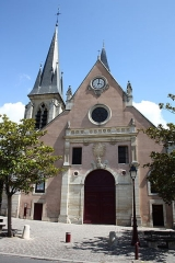 Eglise Saint-Jean-Baptiste - Deutsch: katholische Pfarrkirche Saint-Jean-Baptiste in Sceaux im Département Hauts-de-Seine in der Île-de-France