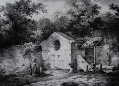 Fontaine du Roi -  La Fontaine du Roy, gravure par (Joseph?) Lemercier.