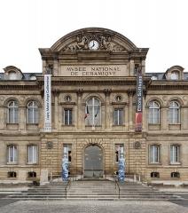 Domaine national de Saint-Cloud : ancienne école nationale de céramique - English:  entrance of the Musée national de Céramique-Sèvres