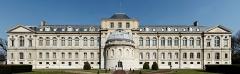 Domaine national de Saint-Cloud : ancienne école nationale de céramique - English:  rear facade of the Musée national de Céramique-Sèvres