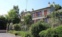 Maison des Jardies ou Maison de Gambetta - English: South side with green cover © Maison des Jardies