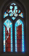 Chapelle Saint-Loup - Français:   Saint-Loubès chapelle Saint-Loup vitrail