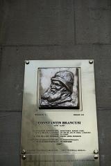 Ancien collège de Beauvais, actuelle église orthodoxe roumaine -  Plaque to Constantin Brancusi @ Romanian Orthodox Church @ Paris  Église des Saints-Archanges, 9 Bis Rue Jean de Beauvais, 75005 Paris, France.
