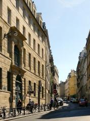 Collège des Ecossais - English: Cardinal-Lemoine street - Paris
