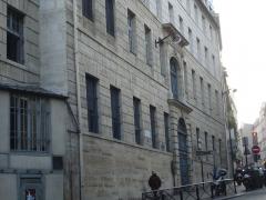 Collège des Ecossais -  Collège des Écossais; rue du Cardinal-Lemoine; Paris