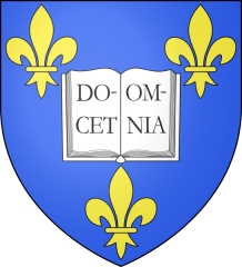 Collège de France - English: Coat of arms of the Collège de France
