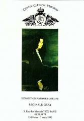 Ancien Collège des Irlandais ou Collège des Lombards, Eglise Saint-Ephrem - English: poster for exhibition
