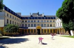 Ancien Collège des Irlandais ou Collège des Lombards, Eglise Saint-Ephrem - English: Centre culturel irlandais - Paris