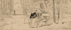 Couvent des Feuillantines - Français:   Victor Hugo dans le couvent des Feuillantines en 1813