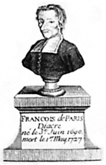 Eglise Saint-Médard -  Version nettoyée du buste de François Pâris