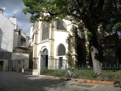 Eglise Saint-Médard - English:   L\'Eglise Saint-Medard, Rue Mouffetard, Paris