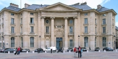 Faculté de Droit de Paris -  Former law school (1771-74)  by Jacques-Germain Soufflot, Place du Pantheon, Paris