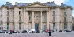 Faculté de Droit de Paris -  Former law school (1771-74)  by Jacques-Germain Soufflot, Place du Pantheon, Paris