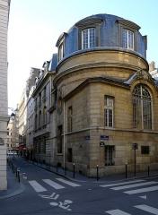 Ancienne faculté de médecine, actuellement Maison des étudiants - English: Hotel_Colbert street - Paris