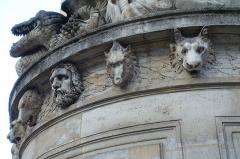 Fontaine Cuvier -  Cuvier Fountain @ Paris  Fontaine Cuvier, Paris, France.