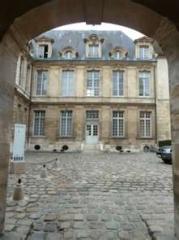 Ancien hôtel de Miramion, ancien musée de l'Assistance publique - Français:   Entrée de l\'Hôtel de Miramion