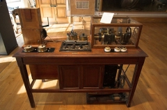 Ancien hôtel de Miramion, ancien musée de l'Assistance publique -  electrocardiography / 心電図の器械 / Musée de l'Assistance Publique-Hopitaux de Paris / Hôtel de Miramion(Paris, France)