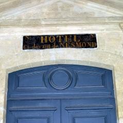 Hôtel de Nesmond - English: Hôtel ci-devant de Nesmond, Quai de la Tournelle, Paris