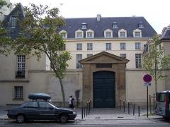 Hôtel de Nesmond - English: View of the Hôtel de Nesmond at 55-59, quai de la Tournelle in Paris