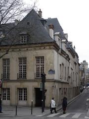 Hôtel de Nesmond -  Hôtel Nesmond with rue des Bernardins