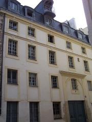 Hôtel Saint-Haure  ou des Dames de Sainte-Aure - English:   General view of the Hôtel Saint-Haure at rue Lhomond in Paris