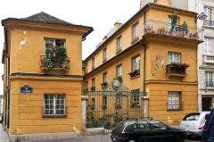 Immeuble -  Hôtel particulier, 9 rue de l'Estrapade, Paris.