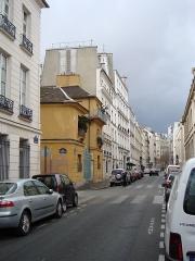 Immeuble - Français:   Rue de l\'Estrapade # Paris derrière la place du Panthéon