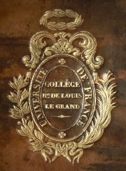 Lycée Louis-le-Grand - English: Coats of arms of the
