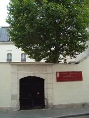 Monastère des Bénédictins anglais - English: The Schola Cantorum in Paris, rue Saint-Jacques