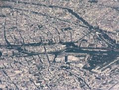 Mosquée de Paris et Institut musulman - English: Paris, from airliner