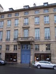 Ancien Hôtel de Clermont-Tonnerre - English: Hôtel particulier at 27 quai de la Tournelle, Paris
