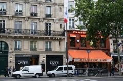 Brasserie Lipp -  Armani Caffè and Brasserie Lipp, Paris.