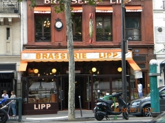 Brasserie Lipp - English: Brasserie LIPP, Boulevard Saint Germain, Paris