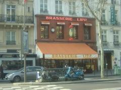 Brasserie Lipp - Ελληνικά: Η Μπρασερί Λιπ, Παρίσι - Μπουλβάρ Σαιν-Ζερμαίν, 2011