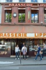 Brasserie Lipp -  Brasserie Lipp, Paris.