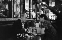 Brasserie Lipp - Polski: Roland Topor i Agnieszka Taborska Chez Lipp 1996, fot. Marcin Giżycki