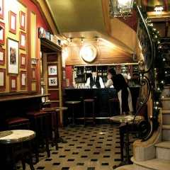 Café Le Procope - English: Cafe Procope bar