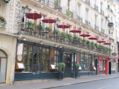 Café Le Procope - Français:   Café Procope, Rue de l\'Ancienne Comédie, Paris