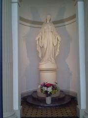 Collège Stanislas - English: Stanislas, Paris, Statue of Holy Mary
