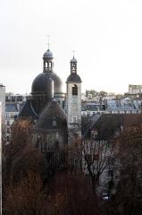 Couvent des Carmes - Français:   Dôme de l\'église Saint-Joseph-des-Carmes (6ème arrondissement de Paris) vu depuis le 12 rue Cassette.